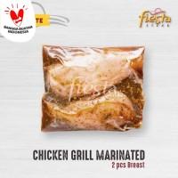 Fiesta Steak Marinated Chicken Grill - Daging Fillet Dada Ayam Frozen