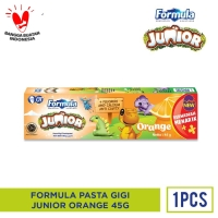 FORMULA PASTA GIGI JUNIOR ORANGE 45G