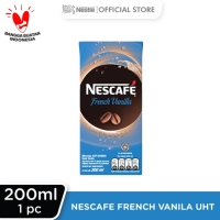NESCAFÉ French Vanilla UHT 200ml 4 pcs Gratis Pouch