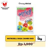 Nutrijell Rasa Jambu Biji/ Guava Sachet 10gr