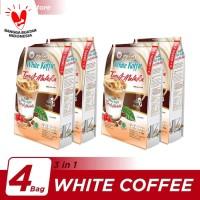 Kopi Luwak White Koffie Tarik Malaka Bag 6x30gr - 4 Pcs