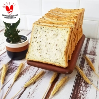 Roti Tawar Toast Bread - Seeded Grain 850gr 14 pcs (1.5cm thick)