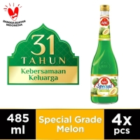 ABC Sirup Special Grade Melon 485 ml - Multi Pack 4 pcs