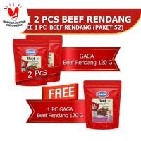 Beef Rendang 120g Beli 2pcs GRATIS 1pc (GG52)