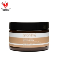 Sensatia Botanicals Seaside Citrus Sea Salt Scrub - 300ml