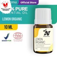 Lemon Essential Oil ( Organic ) 10 Ml | 100 % Pure & Natural Essential