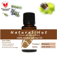 100% PURE ESSENTIAL OIL (ROSEMARY) - 10ml