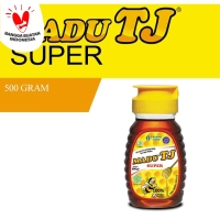 Madu TJ Super 500 gr ( dengan tambahan Royal Jelly dan Bee Pollen)
