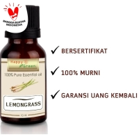 Lemongrass Essential Oil (Minyak Atsiri Sereh Dapur) | 10 ml