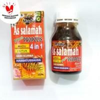 Madu Asalamah plus 4 in 1 (Madu, Zaitun, Sari Kurma dan Propolis)
