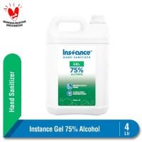 Instance Hand Sanitizer Gel Alcohol 75% 4 L