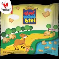 TINI WINI BITI biskuit anak Keju 20 g 3 sachet biskuit bentuk binatang