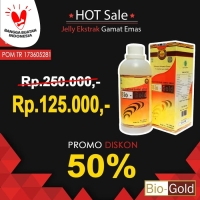 Jelly Gamat Bio Gold G 500 ml / 500ml asli / original Sea Cucumber
