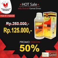 Jelly Gamat Bio Gold G 500 ml / 500ml asli / original Sea Cucumber