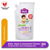 Sleek Baby Bottle Nipple & Accessories Cleanser Pouch 900 mL