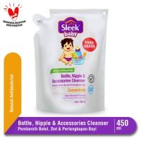 Sleek Baby Bottle Nipple & Accessories Cleanser Pouch 450 mL