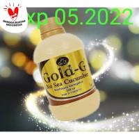 Jelly Gamat Gold G Sea Cucumber 320ml / 320 ml original / asli