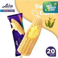 Paket Aice Ice Cream Sweet Corn Es Krim (isi 20 pcs)