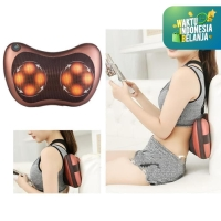 Bantal Pijat Shiatsu Mobil Car Heat Neck Massage Pillow infrared 02-01