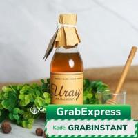 Madu Uray Natural Honey 330ml / Raw Natural Honey / Madu Lebah Hutan