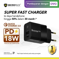 Micropack Wall Charger Booster Lite With Power Delivery & Quick Charge