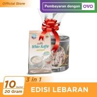 Kopi Luwak White Koffie Less Sugar Bag 10x20 gr & Nissin Wafer Choco