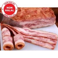 BACON BABI - STD (Pork Bacon Aroma/ Daging Babi Asap) - FROZEN FOOD