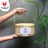Hampers Keranjang bambu / Rantang bambu / Besek bambu