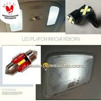 Lampu Plafon Kabin Mobil Innova Reborn LED Paket isi 3 Super Bright v1
