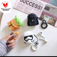 STARWARS AIRPODS 1/2 EARPHONE BLUETOOTH SILICONE CASE