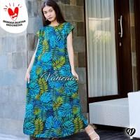 Daster Mega | Dress Vega Payung | Baju Midi Tidur | Flower 1267