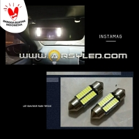Lampu ARSY LED Sunvisor Sun visor Cermin Rush Terios 16 Titik Festoon