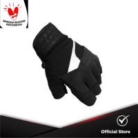 INVENTZO Lafio Black - Sarung Tangan Motor Half Finger