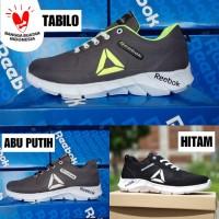 Sepatu Sport Pria Reebok Crossfit Running Olahraga Joging Abu Abu