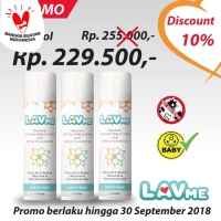 LAVME Anti Bacterial Spray - 3pcs