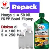 Turtle Wax Carnauba Liquid Cleaner Wax / Poles 2 in 1 TurtleWax Repack