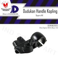 Dudukan-Holder-Bracket-Rumah Handle-Handel Kopling-Kiri Honda Supra XX