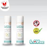 LAVME Anti Bacterial Spray - 2pcs