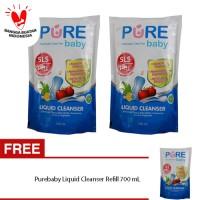 [isi 3] Pure Baby Liquid Cleanser BELI 2 GRATIS 1 @ 700ml 700 ml