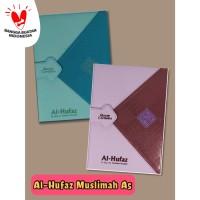 (A5) Al Quran Hafalan Muslimah Al-Hufaz Jaket Agenda Tosca