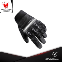 INVENTZO Lucero - Sarung Tangan Motor Berprotektor Sensitive Touch