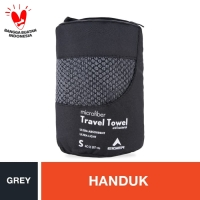 Eiger Travel Towel - Grey S