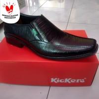 Sepatu pantofel fantofel kulit asli pria dinas formal kerja murah