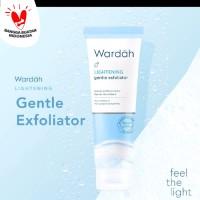 Wardah Lightening Gentle Exfoliator - mencerahkan wajah - facial scrub