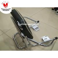 Sandaran Jok belakang motor matic Stainless BUNG BOON made in Thailand