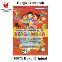 Kamus Super Elite Bergambar Inggris Indonesia Berwarna Murah