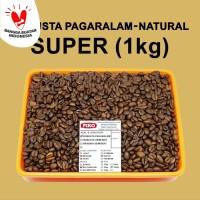 Kopi Biji Sangrai Robusta Pagaralam Super ( 1kg )