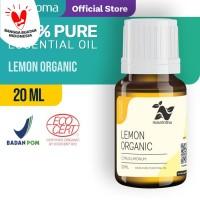 Nusaroma Lemon Organic Essential Oil - 20 ML