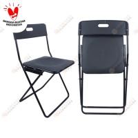 Kursi lipat / Makan / Kerja / Folding outdoor hitam
