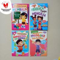 Buku Anak TK PAUD - Belajar Membaca, Full Colour - Bintang Indonesia